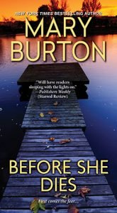 Cover of Mary Burton's BEFORE SHE DIES