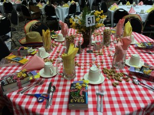Rudy's Honky-Tonk comes alive at Barbara Vey's Luncheon.