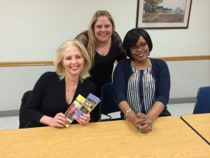 """The wonderful ladies of the Greater Detroit Romance Writers of America on March 21, 2015.  I spoke to the group about """"Writing Your Novel One Draft At a Time."""""""
