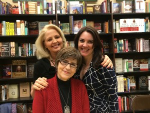 With Mollie Cox Bryan and Avery Flynn at the Virginia Festival of the Book on March 22, 2015