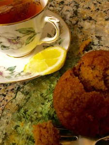 Mary Burton Pumpkin Bread with Tea