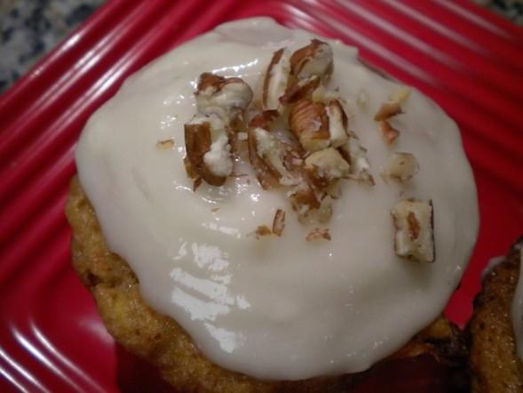 Adriana's Carrot Cake Love Muffins