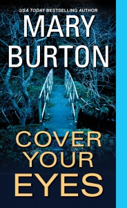 Mary Burton COVER YOUR EYES cover image hi res