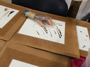 Mary Burton Forensic Facts VCU ID items creating blood patterns #1