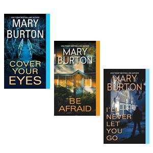 Mary Burton Morgan cover images first three 2X2 two