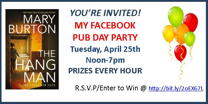 Celebrate with me at The Hangman Facebook Pub Day Party