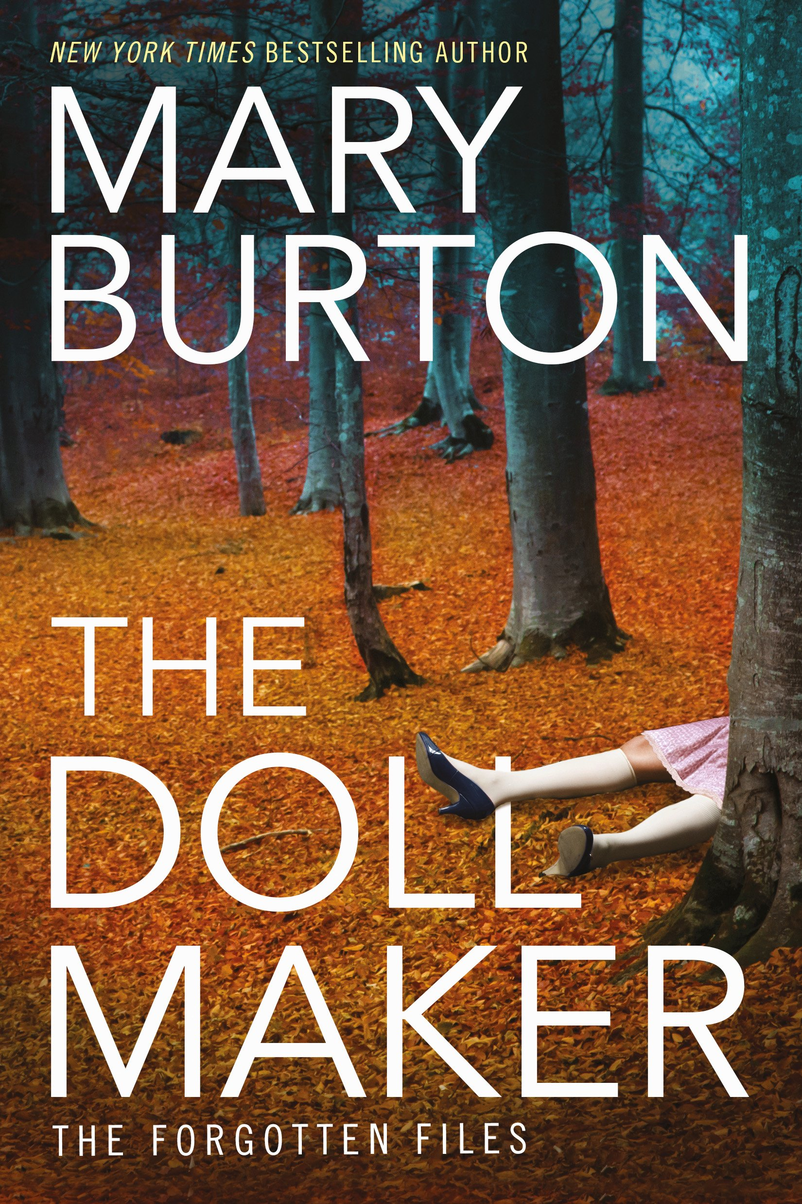 Cover of Mary Burton's THE DOLLMAKER
