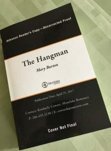The Countdown to The Hangman Continues with a Giveaway!