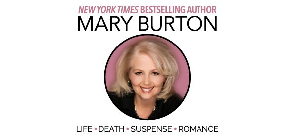 R.S.V.P. TO MARY BURTON'S HER LAST WORD PUB DAY PARTY & BE ENTERED TO WIN PRIZES ON THE HOUR!