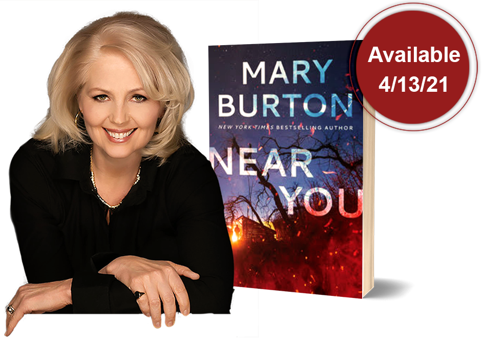Mary Burton, New You Available 4-13-21