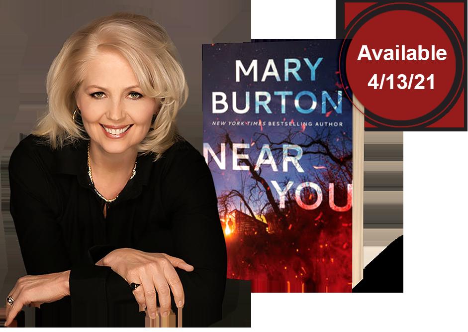 Mary Burton, New You Available 4-13-21
